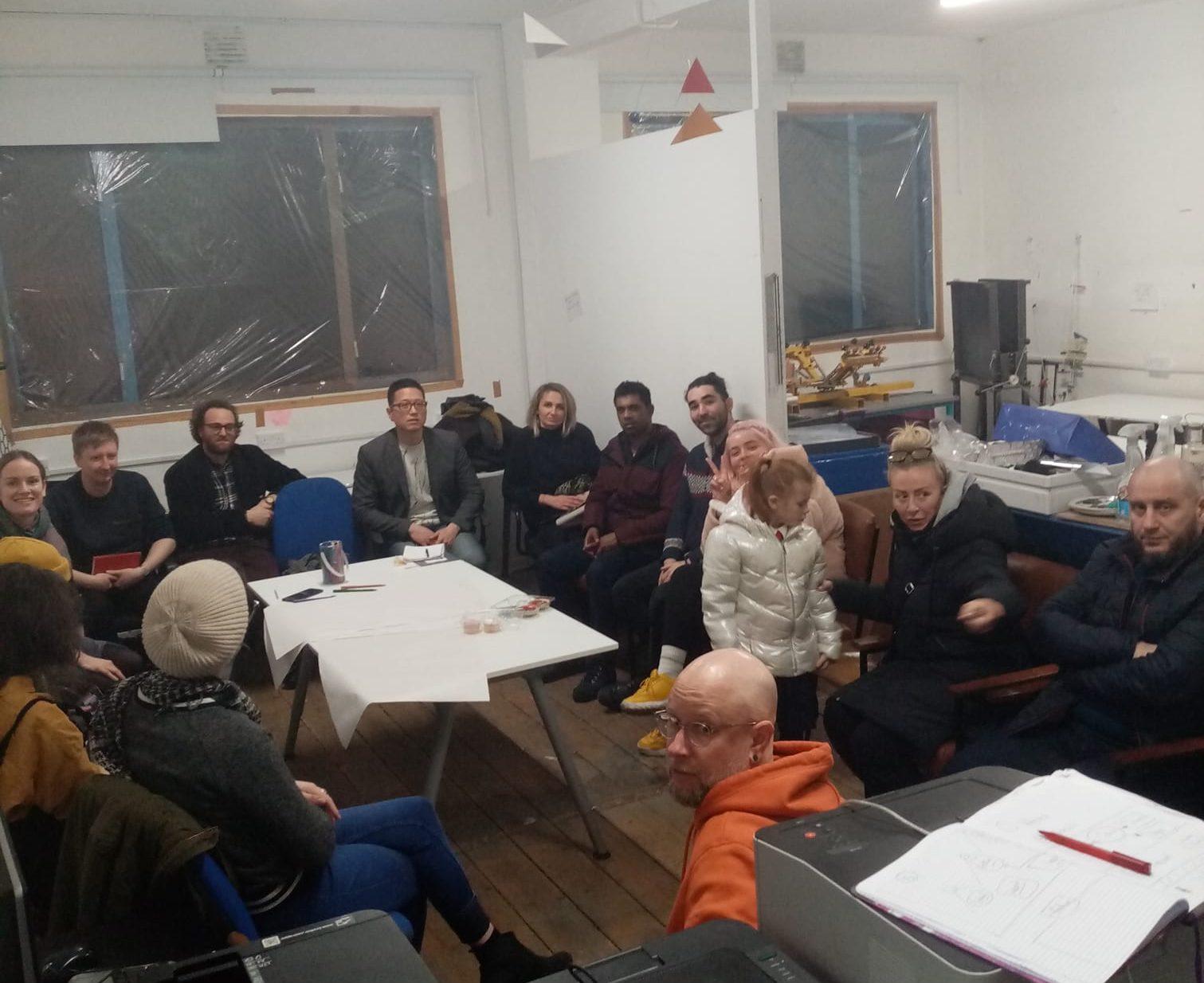 Local Dorset St/Mountjoy planning meeting